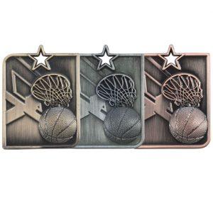 Centurion Star Series Basketball Medal