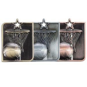 Centurion Star Series Netball Medal