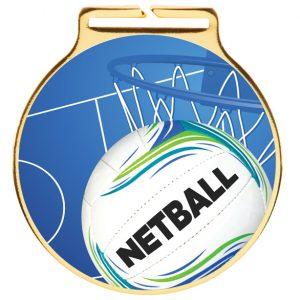 Vision Netball Medal 60mm