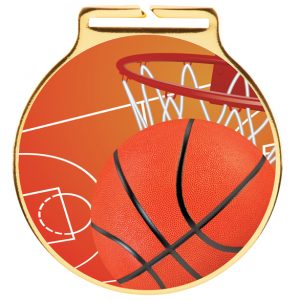 Vision Basketball Medal 60mm