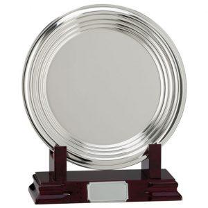 Inverurie Nickel Plated Salver Series 100mm – 250mm