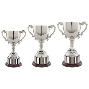 Cambridge Collection Nickel Plated Cup