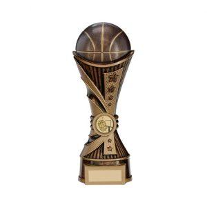 All Stars Basketball Heavyweight Award Antique Bronze & Gold 220mm