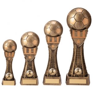 Valiant Football Heavyweight Award Classic Gold