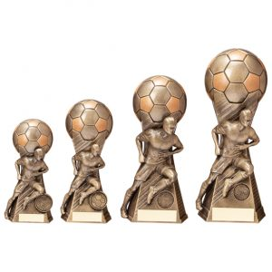 Trailblazer Football Male Award Classic Gold