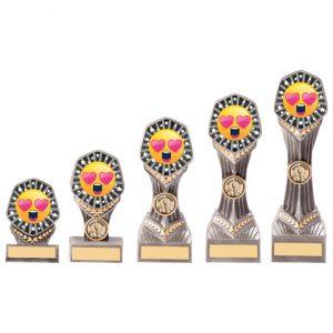 Falcon Emoji Love Heart eyes Award