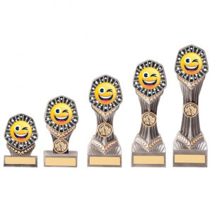 Falcon Emoji Winking Face Award