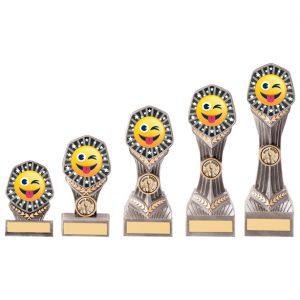 Falcon Emoji Tongue Out Award