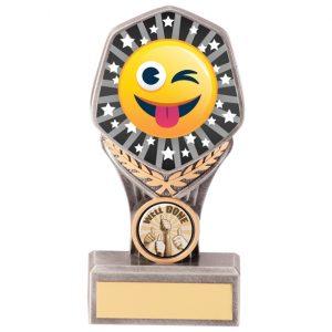 Falcon Emoji Tongue Out Award – 150mm