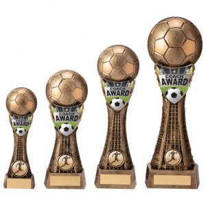 Valiant Football Coach Award Classic Gold