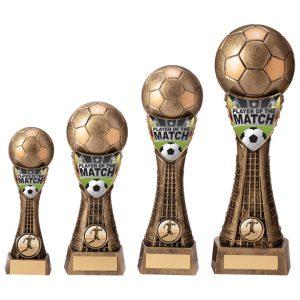 Valiant Football Player of Match Award Classic Gold