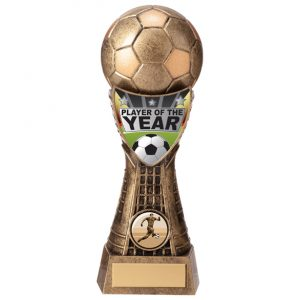 Valiant Football Player of Year Award Classic Gold – 205mm