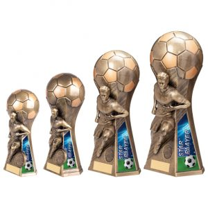 Trailblazer Male Star Player Award Classic Gold