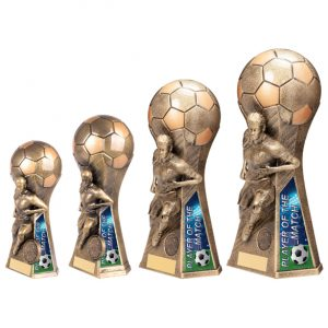 Trailblazer Female Player of Match Award Classic Gold