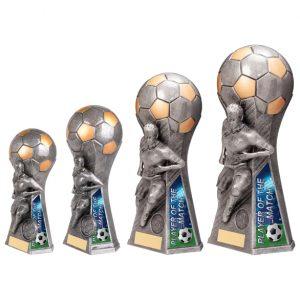 Trailblazer Female Player of Match Award Antique Silver