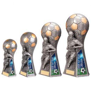 Trailblazer Female Player of Year Award Antique Silver