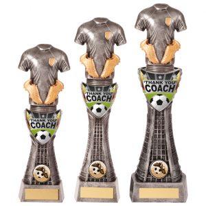 Valiant Football Coach Thank You Award