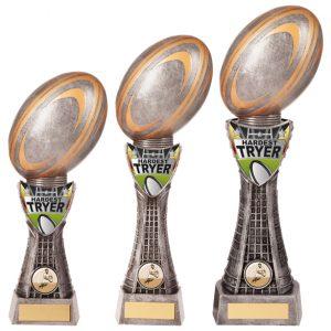 Valiant Rugby Hardest Tryer Award