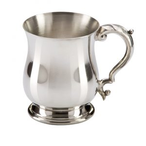 The Georgian English Pewter Tankard 120mm 1pt