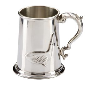 The Troon Golf English Pewter Tankard 125mm 1pt