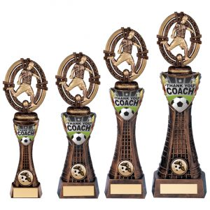 Maverick Football Coach Thank You Award