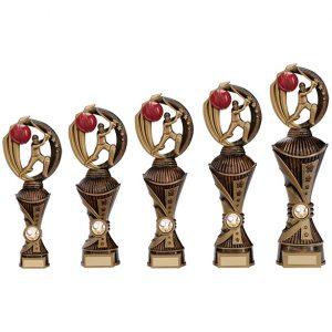 Renegade Cricket Heavyweight Award Antique Bronze & Gold