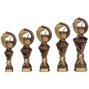 Renegade Fishing Heavyweight Award Antique Bronze & Gold