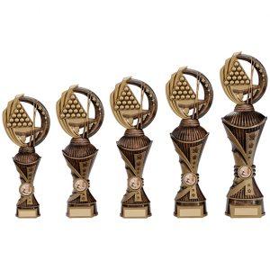Renegade Snooker Heavyweight Award Antique Bronze & Gold