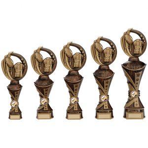 Renegade Rugby Heavyweight Award Antique Bronze & Gold