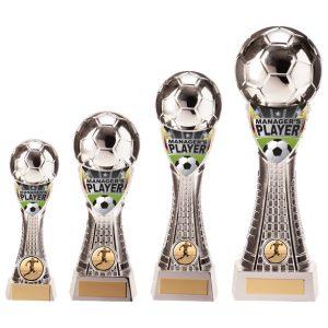 Valiant Football Manager Player Award Silver
