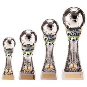 Valiant Football Star Player Award Silver