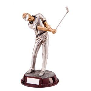 The Augusta Male Golf Figure
