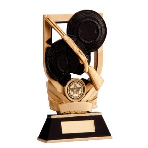 Trojan Clay Pigeon Plaque 150mm