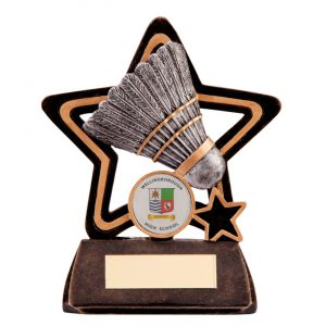 Little Star Badminton Award 105mm