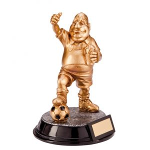 Outrageous Beer Belly Football Award 165mm