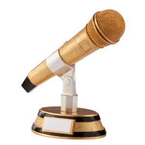 Karaoke King Music Microphone Award 175mm
