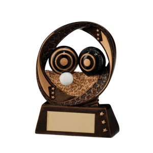 Typhoon Lawn Bowls Award – 90mm