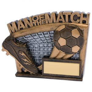 Agility Football Man Of The Match Award 90mm