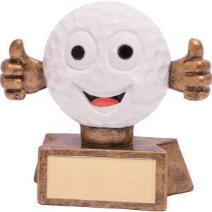 Smiler Golf Award 75mm