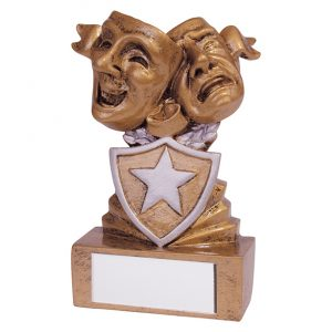 Shield Drama Mini Award 95mm