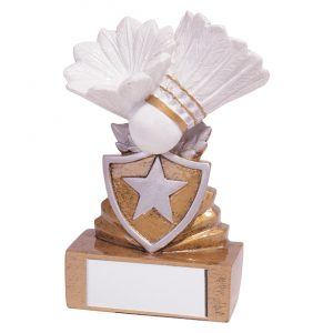 Shield Badminton Mini Award 95mm