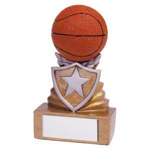 Shield Basketball Mini Award 95mm