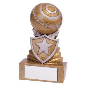 Shield Lawn Bowls Mini Award 95mm