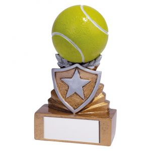 Shield Tennis Mini Award 95mm