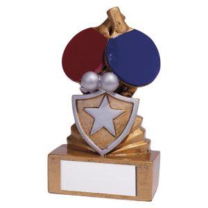 Shield Table Tennis Mini Award 95mm