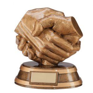 Respect Handshake Award 130mm