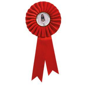 Champion Rosette Red – 255mm