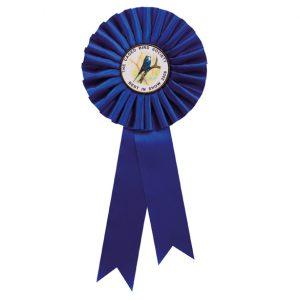 Champion Rosette Blue – 255mm