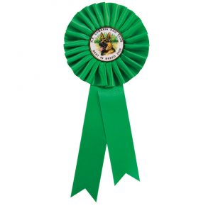 Champion Rosette Green – 300mm