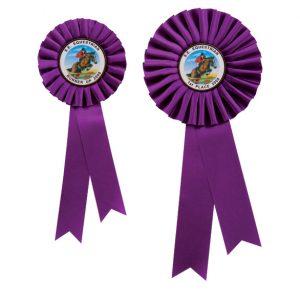 Champion Rosette Purple